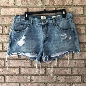 91 Cotton On Jean Shorts Size 14